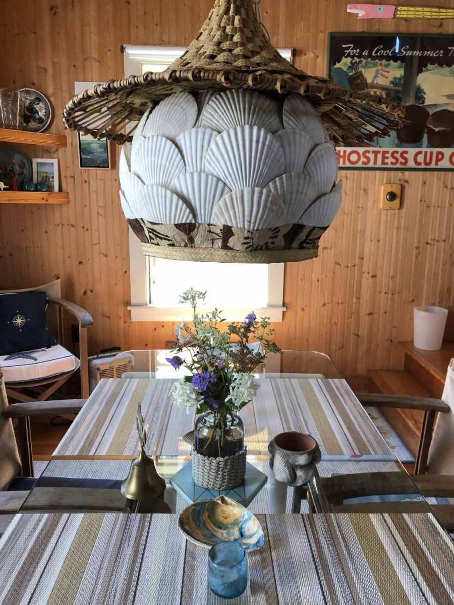 Enclave Project: Maine Island Summer Cottage Dining Room