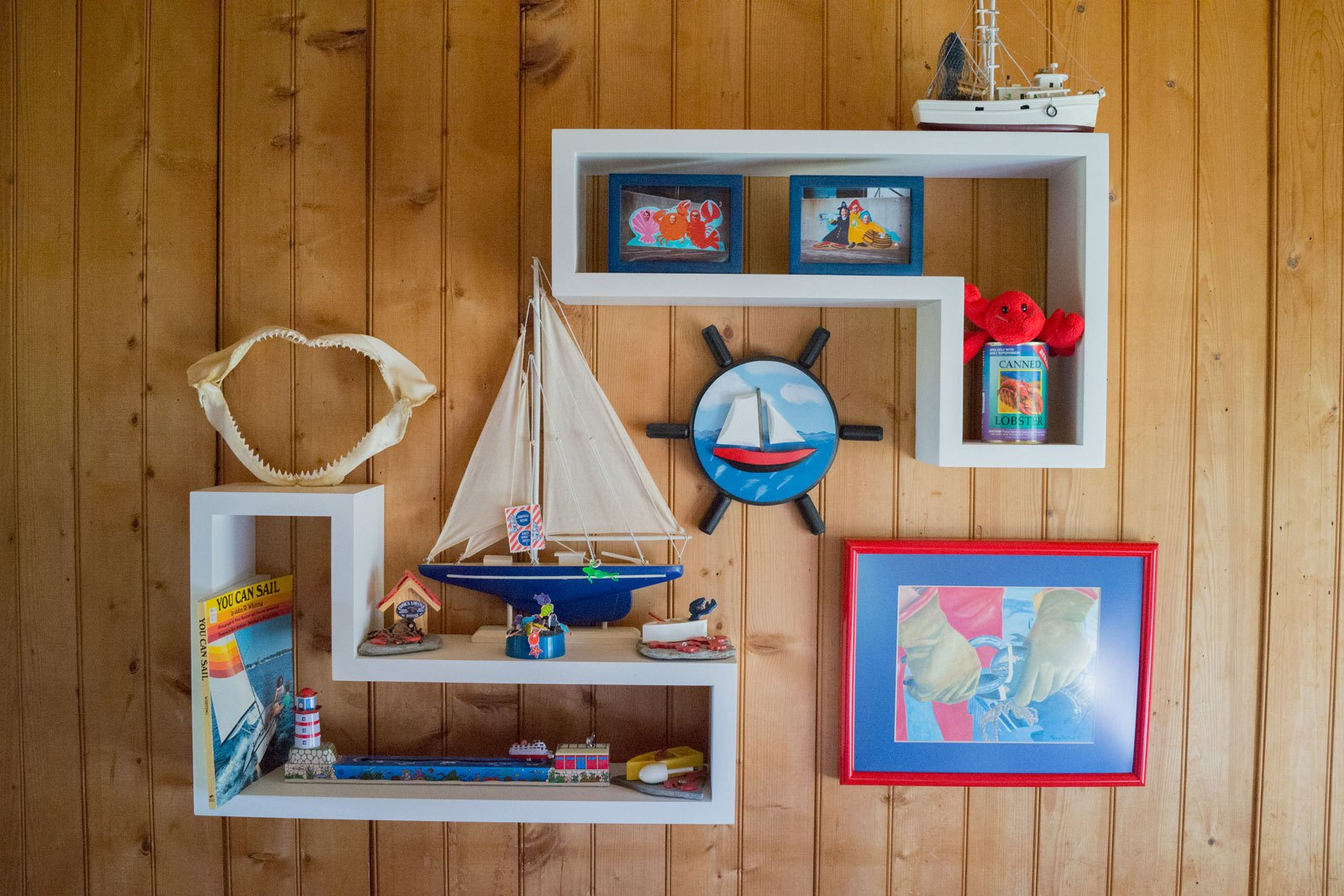 Enclave Project: Maine Island Summer Cottage Child's Bedroom