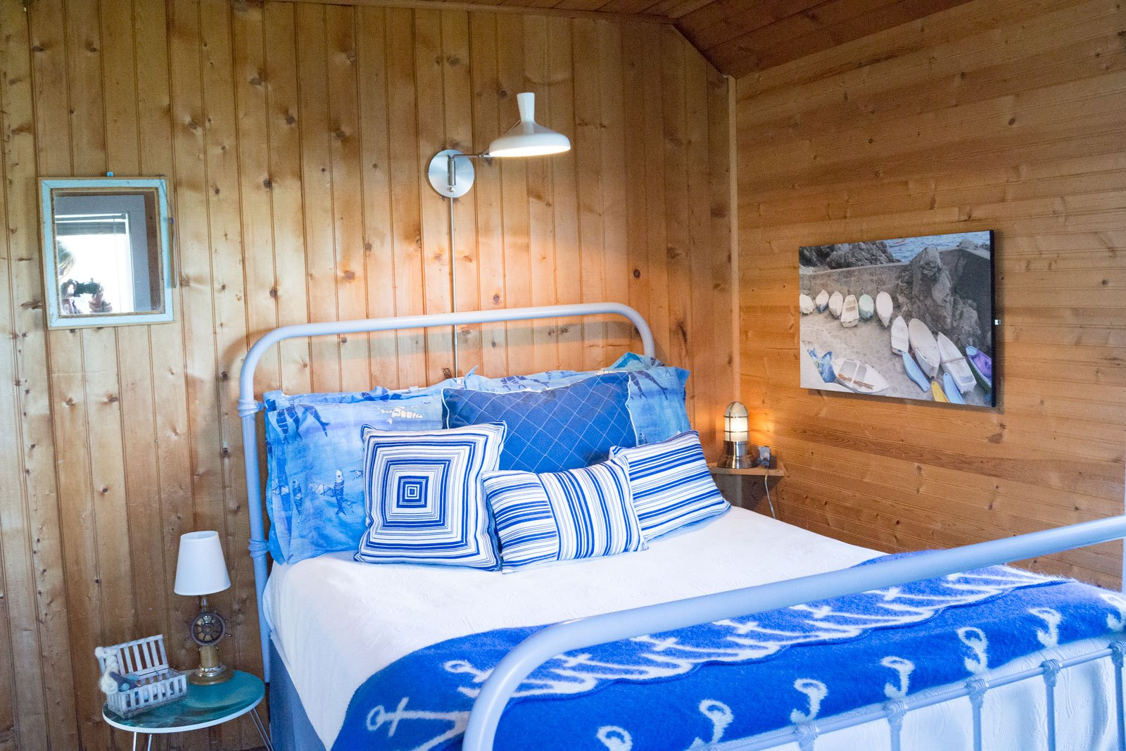 Enclave Project: Maine  Island Summer Cottage Guest Bedroom