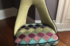 Enclave Project: Reupholstered Chair Complete